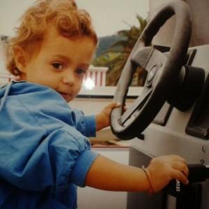 Stella bimba auto